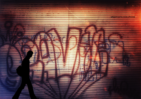 Graffiti in Tehran