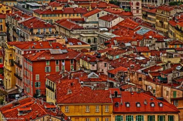 Roofs in Nice