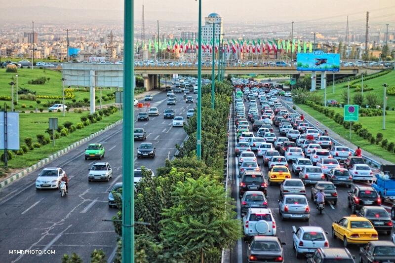 Tehran highway