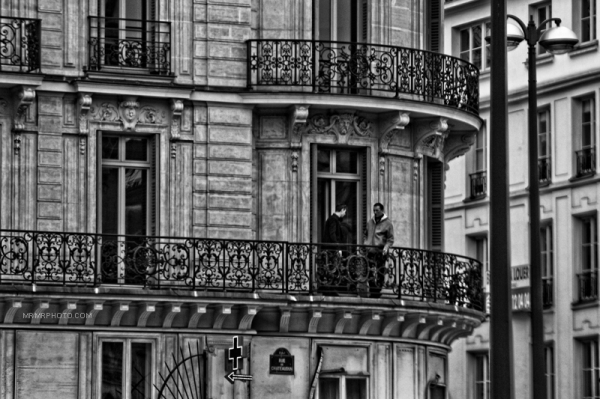 Balcony in Paris