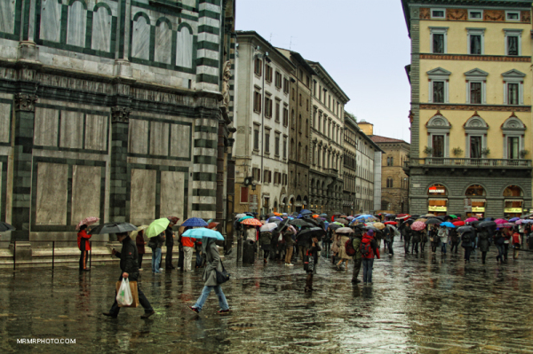 Rainy day in Florence