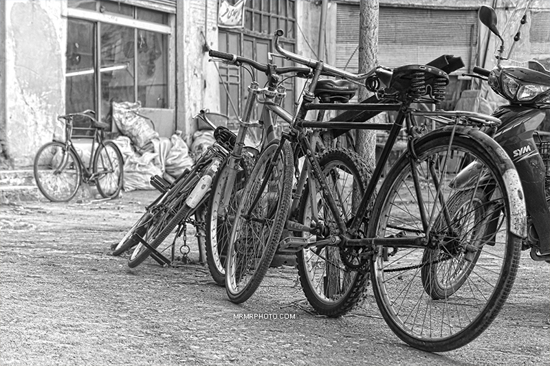 Bicycles in Isfahan
