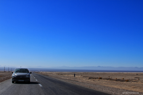 The Road and sky
