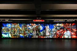 PLACE-DES-ARTS metro (subway) station