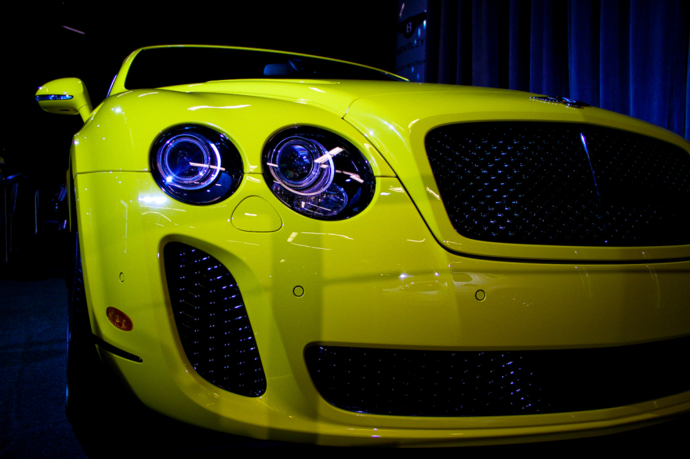 Yellow Bentley