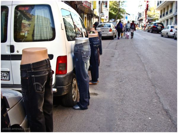 Instanbul - jeans store