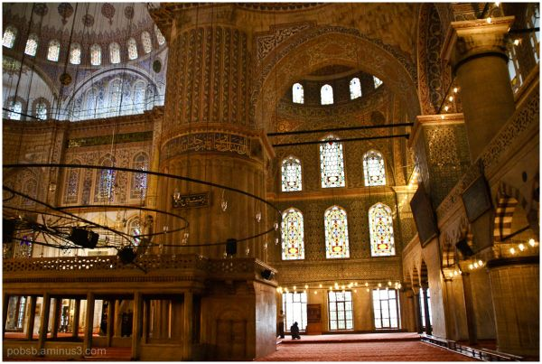 Instanbul - Blue Mosque - 1