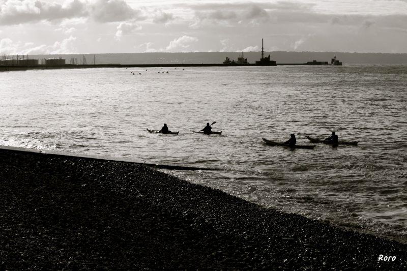 plage, beach, le havre, normandie