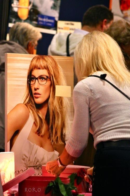 femme, woman, miroir, mirror