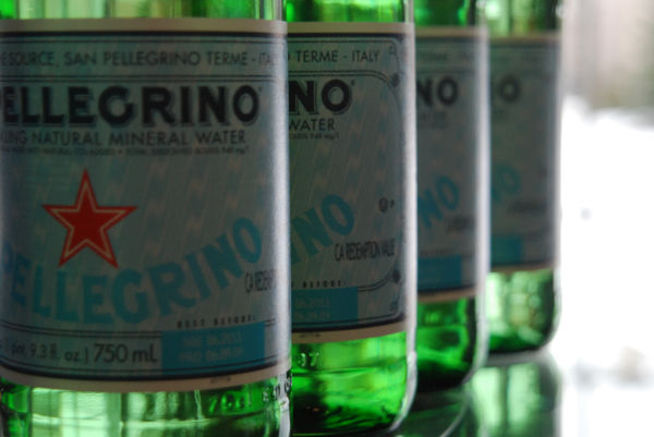 water bottled