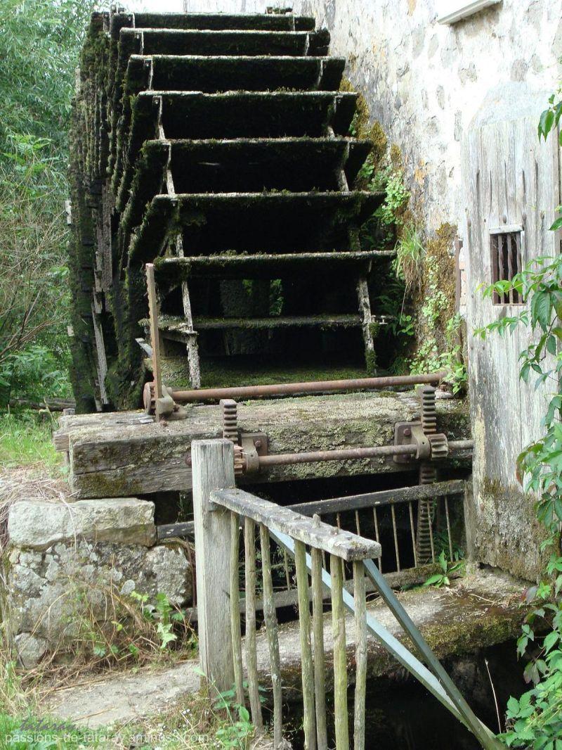Moulin à eau.