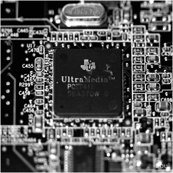 Small processor chip