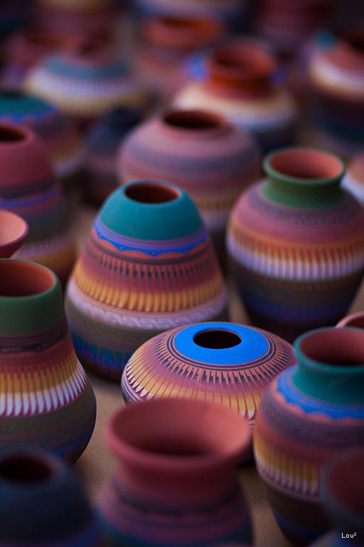 #1056 - Vases in Santa Fe