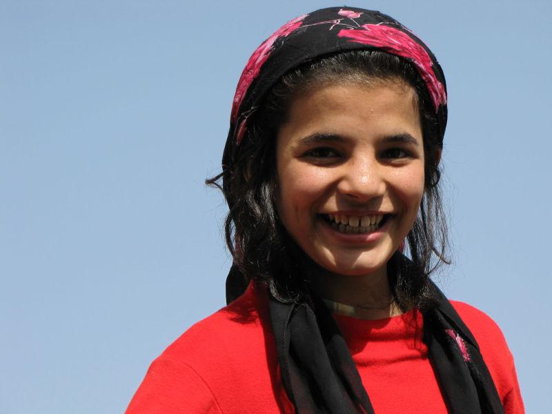 Afghan girl !