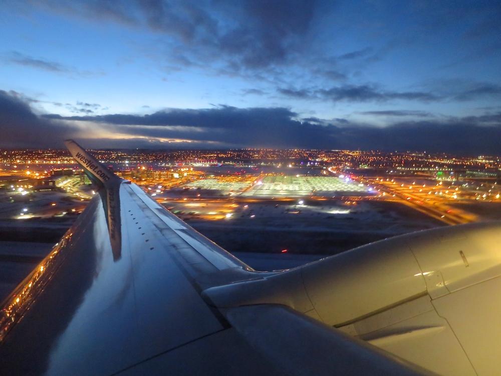 Take off YYC