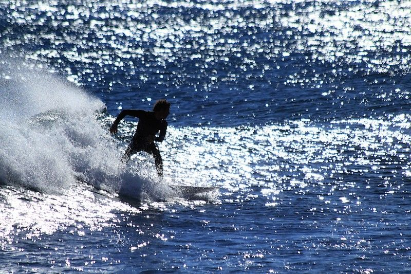 Surf In Sausset Les Pins