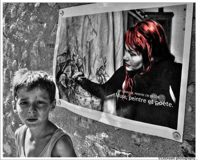 L'enfant et l' artiste