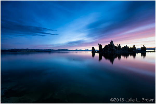mono lake autumn south tufa sunrise