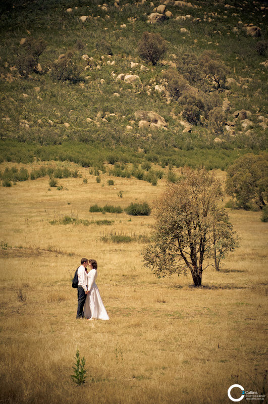 Summer Bush Wedding, Tidbinbilla, Canberra