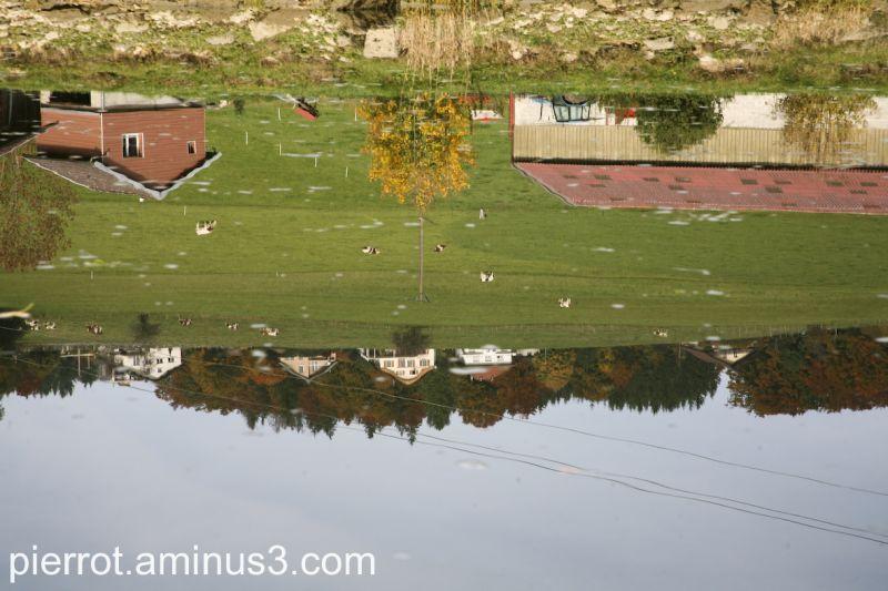Reflets sur le Doubs