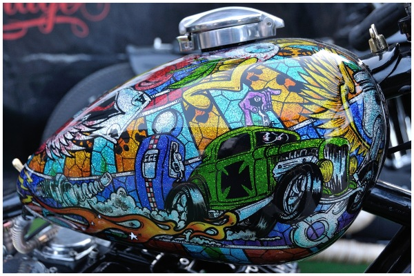Peinture chopper