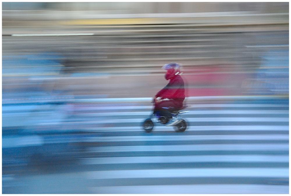 mini bike  à toute vitesses