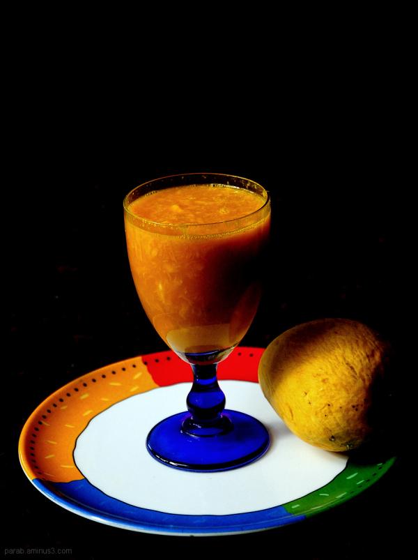 mango juice....2