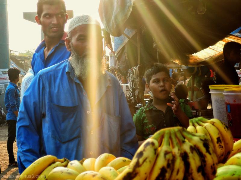 Banana seller.
