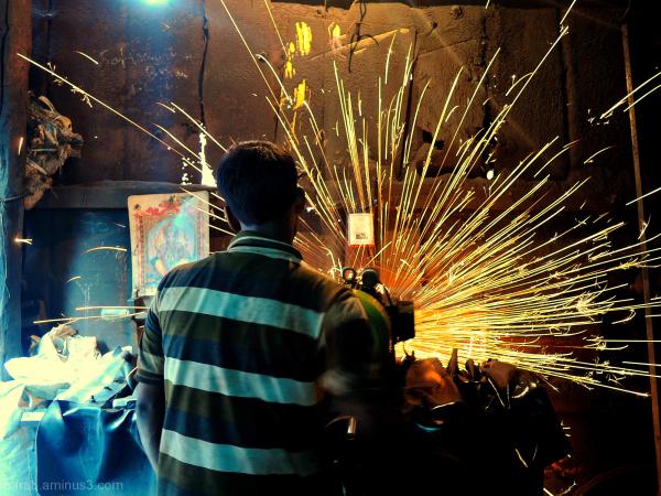 Man at Work....2