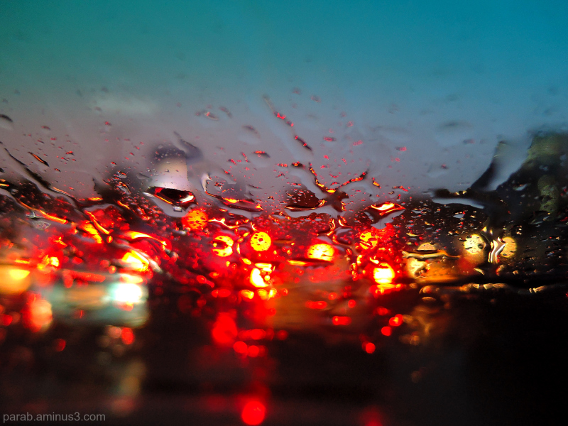 Rain & light