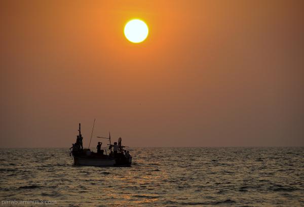 fisherman's boat.