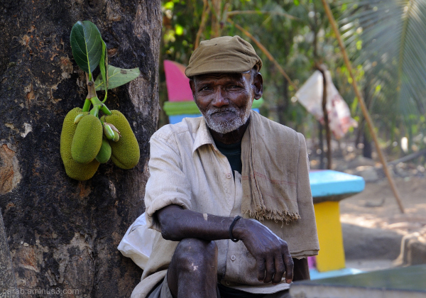 Man & Jackfruit.