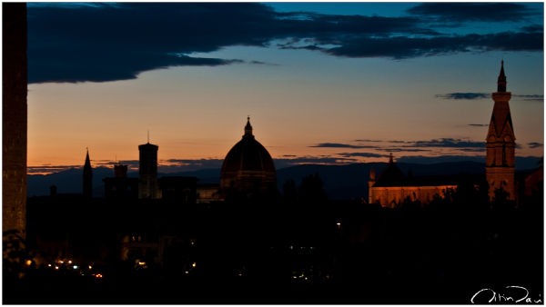 Silhouttes in Firenze