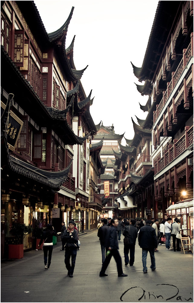 Roofs of Yuyuan