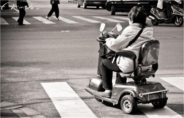 shanghai, china, street photo, people