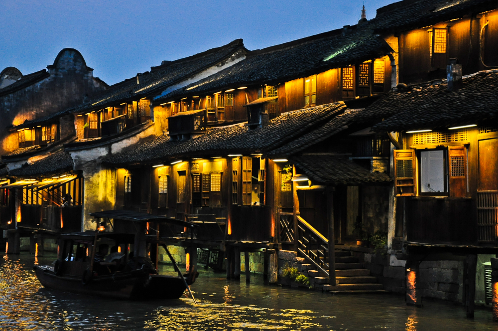 Wuzhen by Night