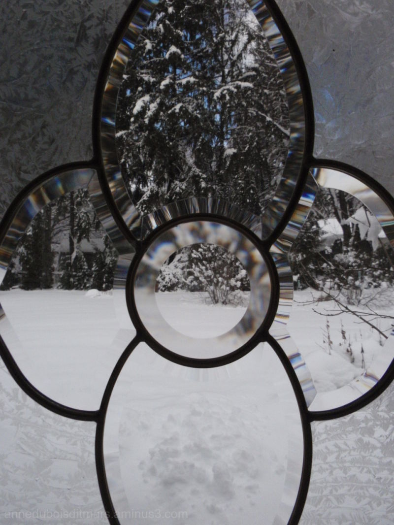 Looking out of my Snow Globe