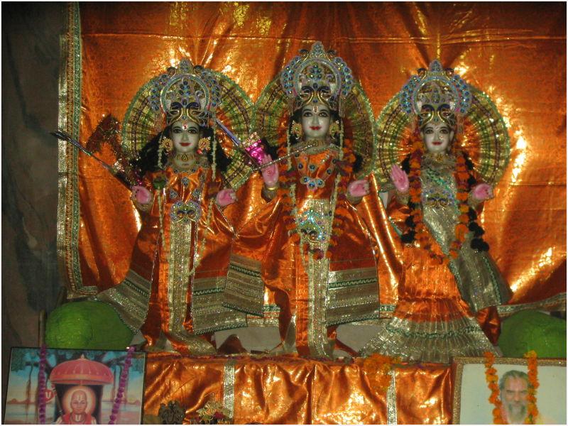 Lord Rama graces the world