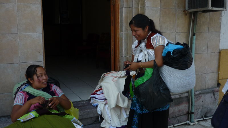 vendeuses rue mexique