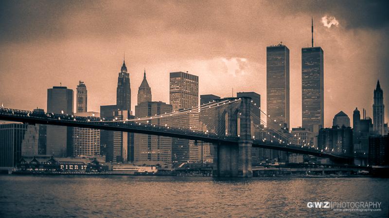 New York City Skyline, circa 1986