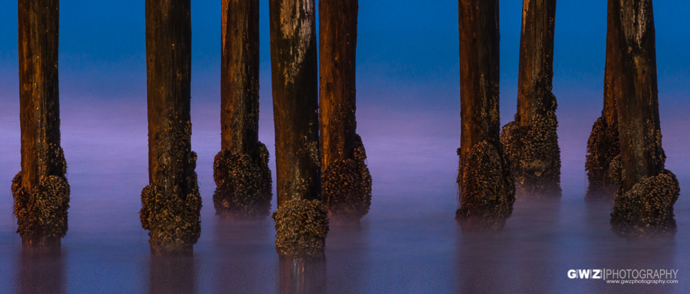 Cayucos, California Pier just before dawn