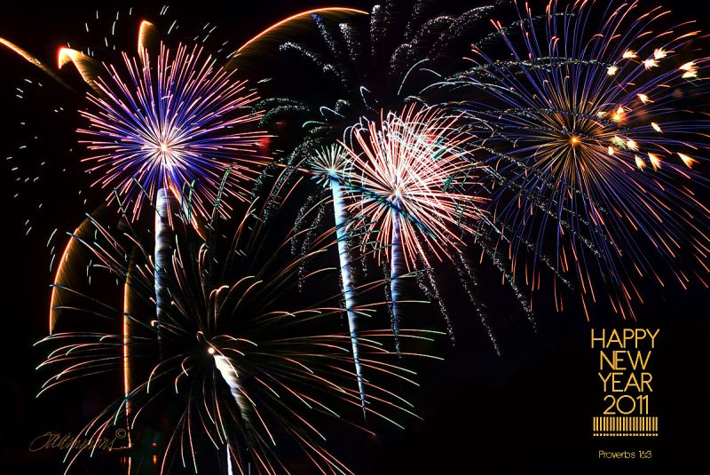 Fireworks, Happy New Year!