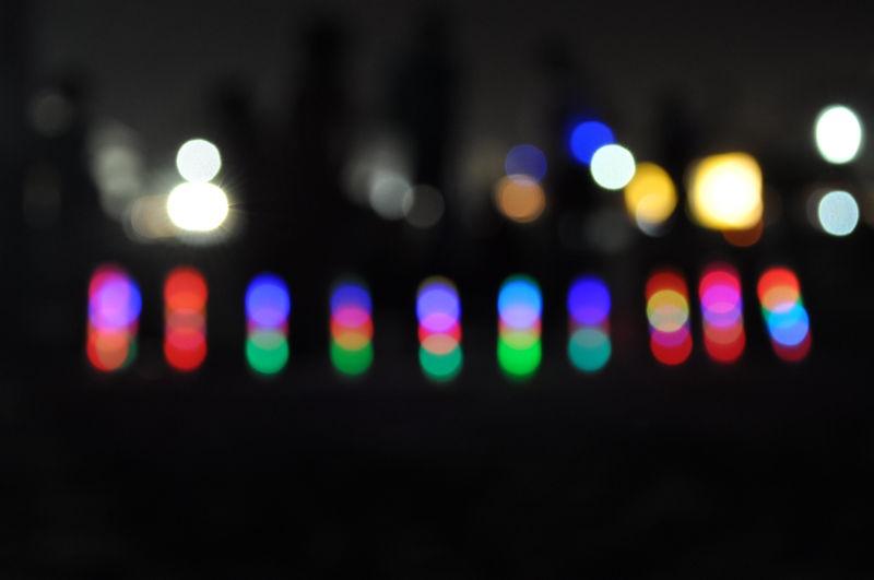 lights in elliots beach