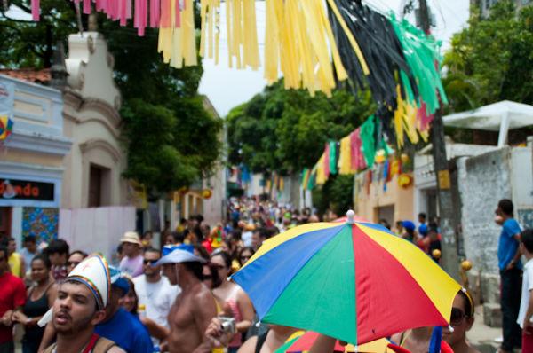 Carnival in Olinda, Pernambuco, Brazil