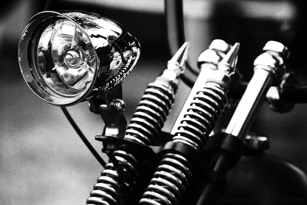 Motorcycle headlight