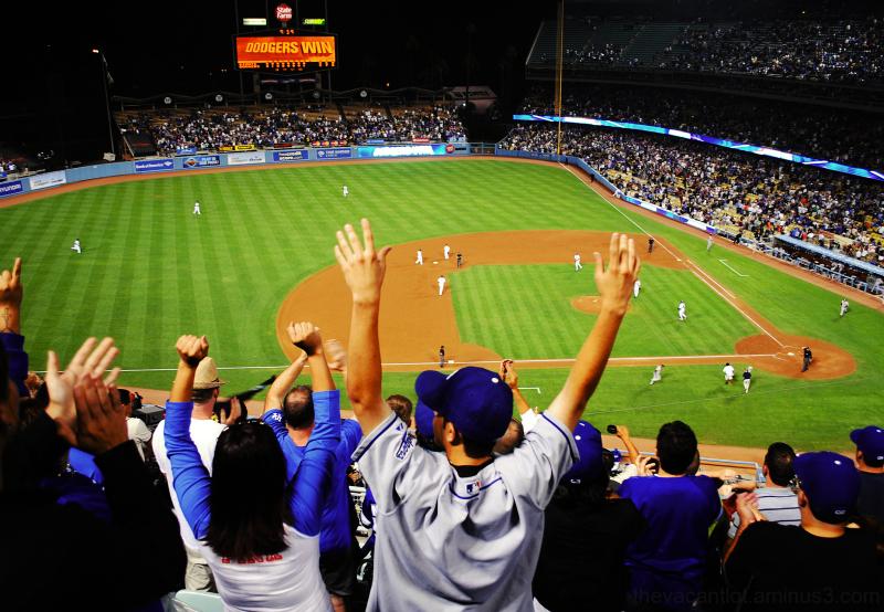 Dodgers Win