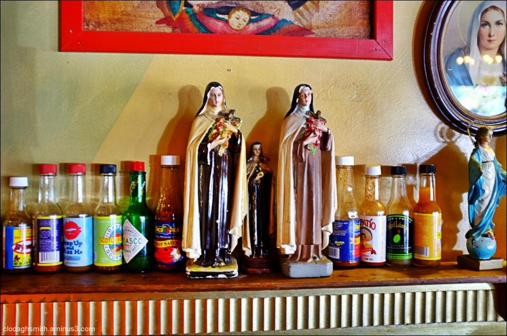 tres Santa Teresa @ Joe's Taco Lounge