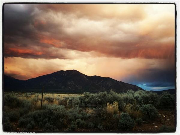 sunset alpenglow
