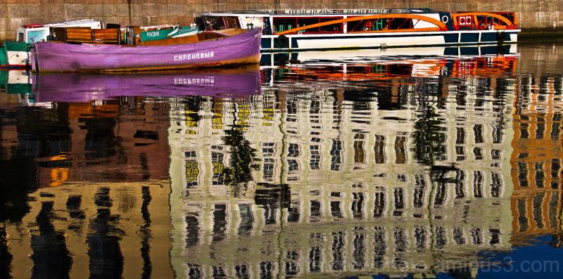 Saint Petersburg Reflections