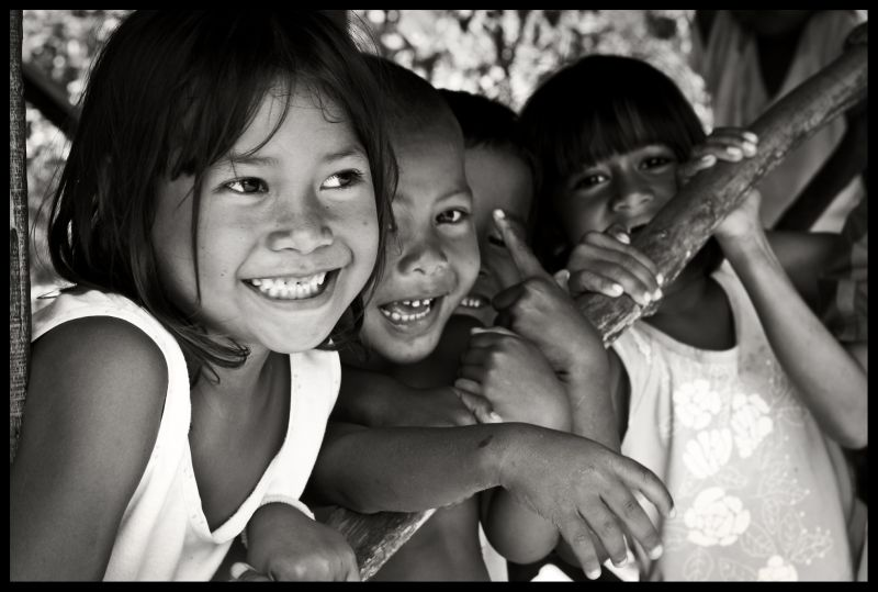 Bajau Village - all smiles